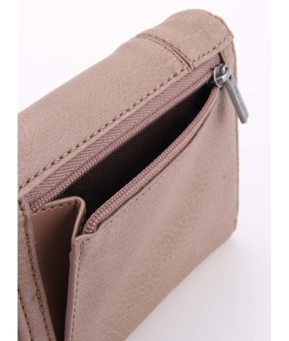 Malá béžová peněženka Tamaris Yoko - SLEVA!  ecf5305b93f