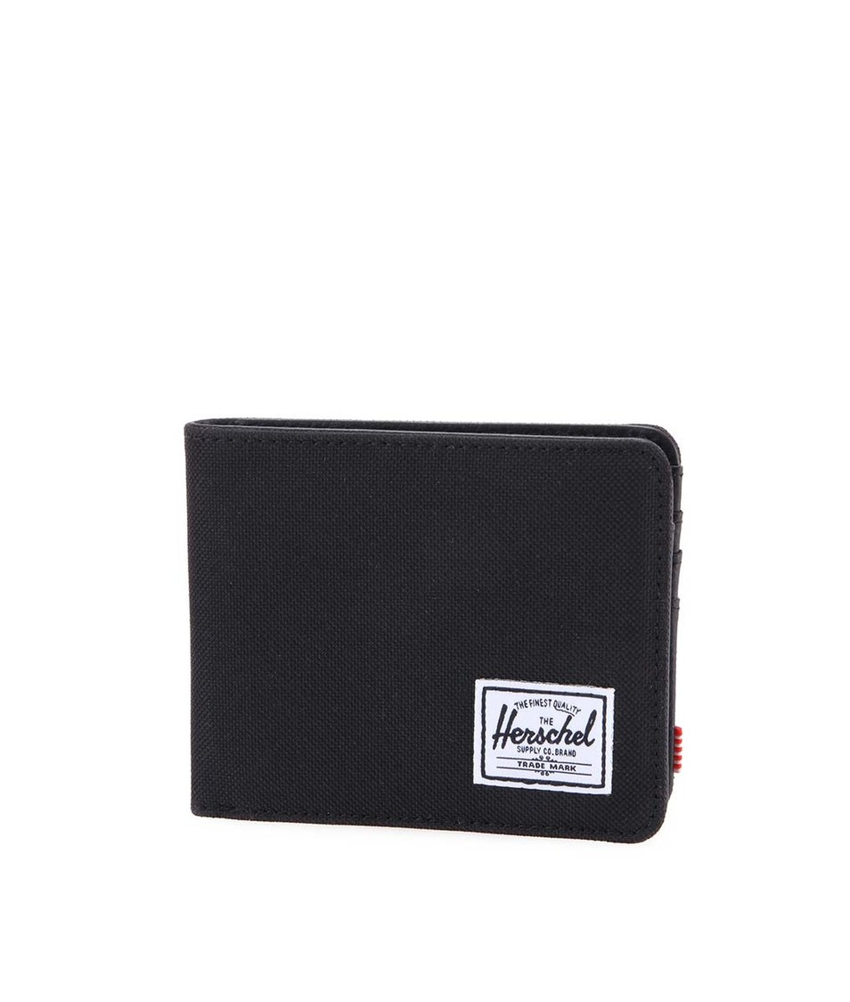 Černá pánská peněženka Herschel Hank
