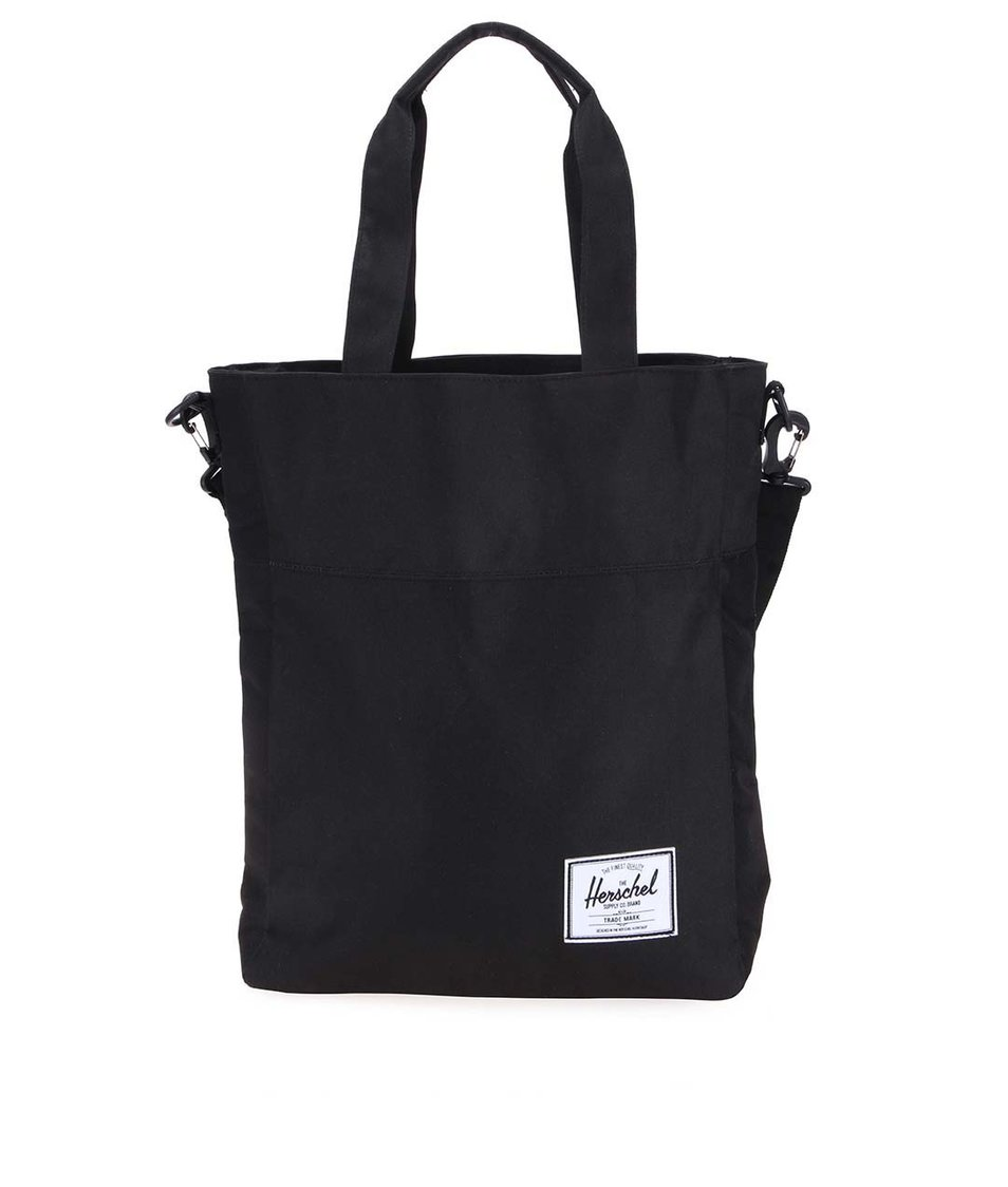 Černá taška přes rameno Herschel Pier