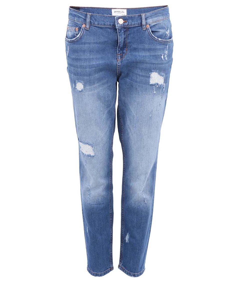Světle modré dámské džíny Vero Moda Girlfriend
