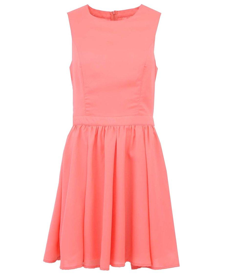 Korálové šaty ONLY Yasmin
