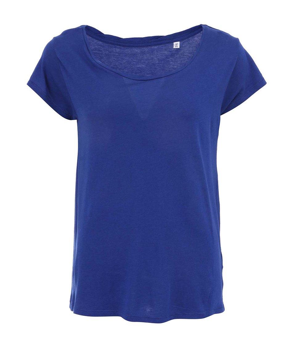 Modré dámské volnější tričko Stanley & Stella