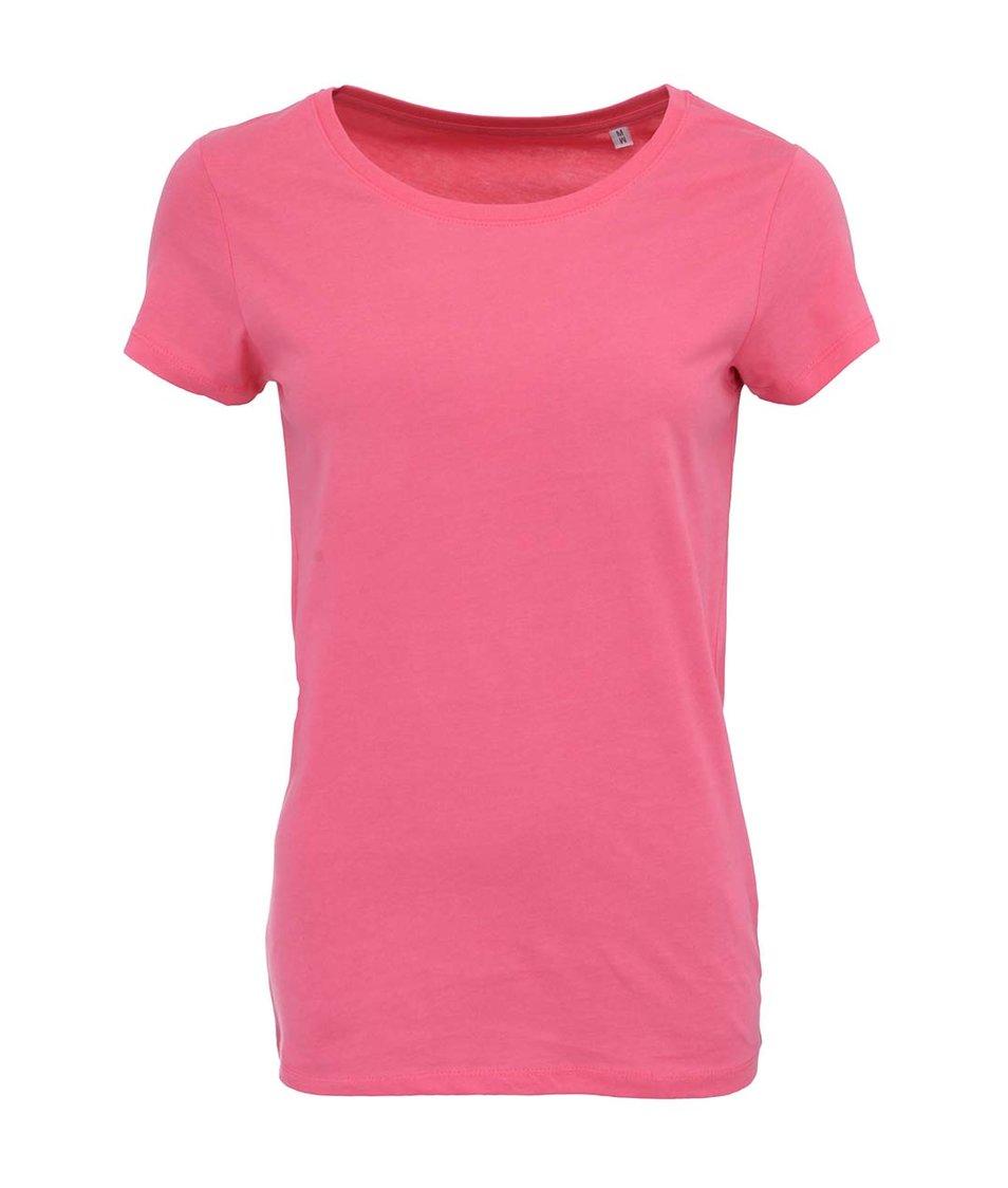Růžové dámské tričko Stanley & Stella Wants