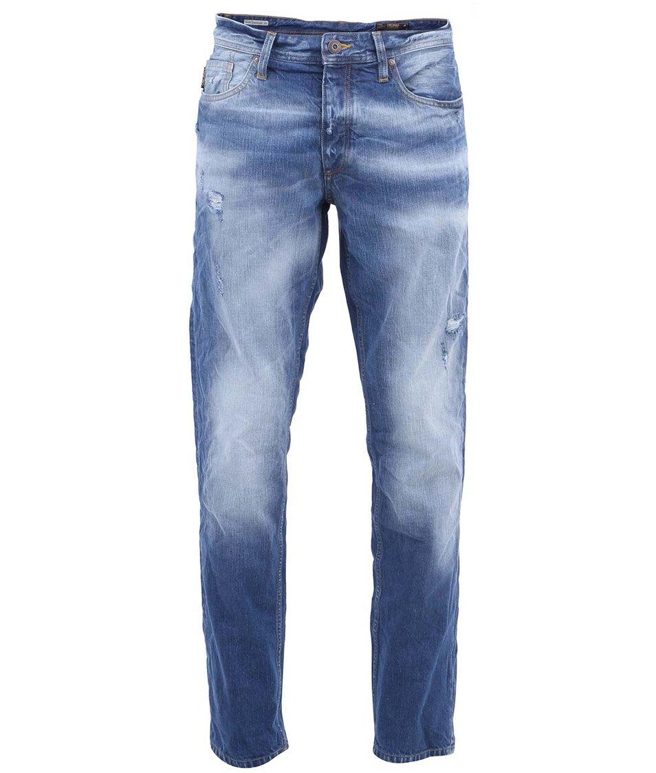 Tmavě modré džíny Jack & Jones Mike