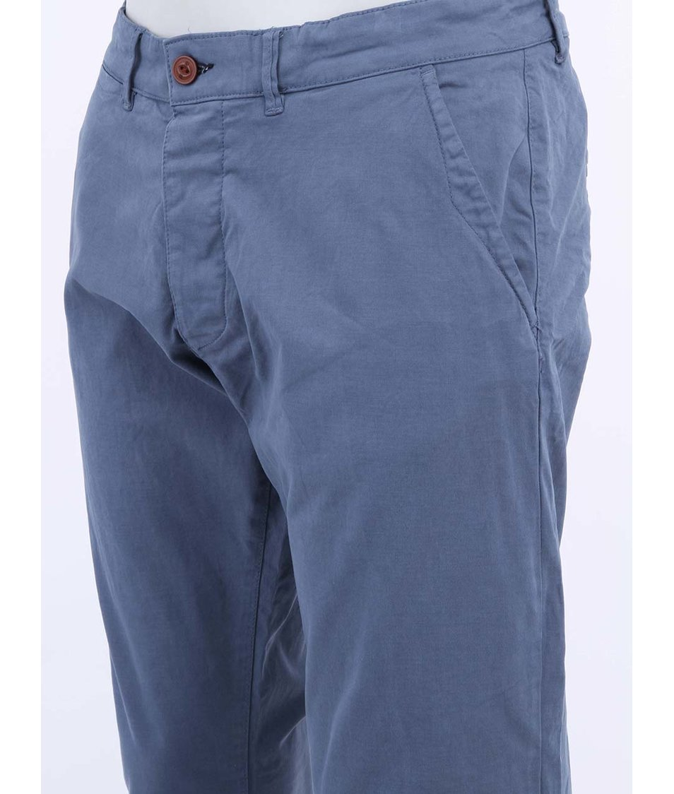 Modré kalhoty Jack & Jones Bolton