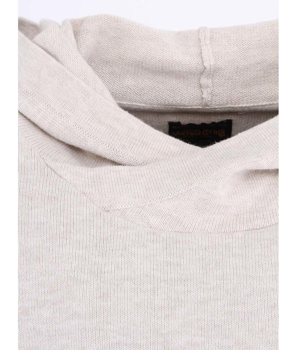 Bílý svetr s kapucou Jack & Jones Gerard