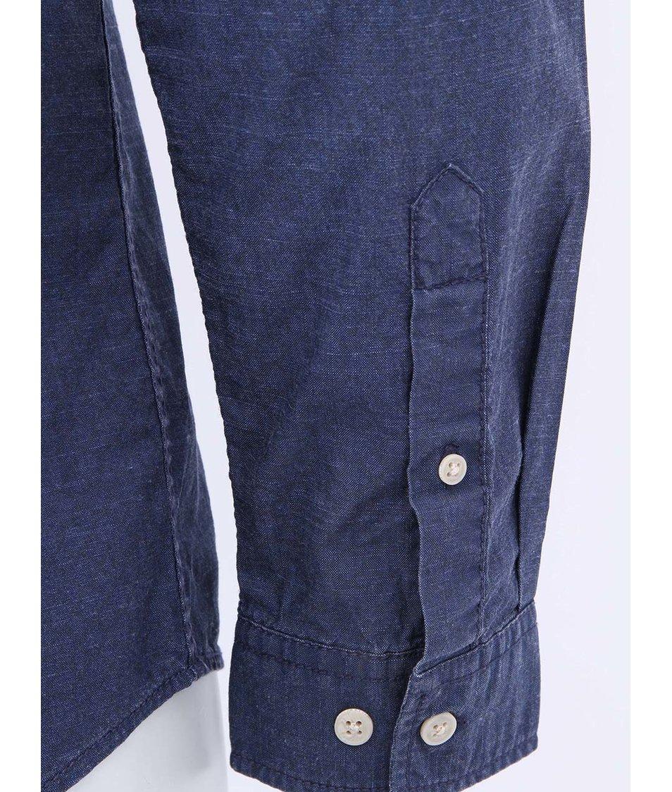 Tmavě modrá džínová košile Jack & Jones Drift