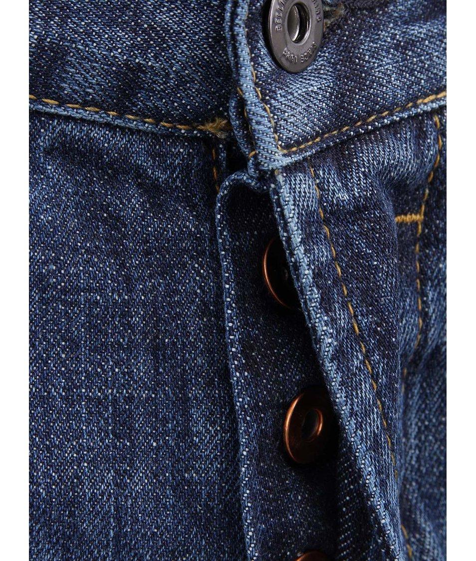 Modré pánské úzké džíny Bellfield Moonshine