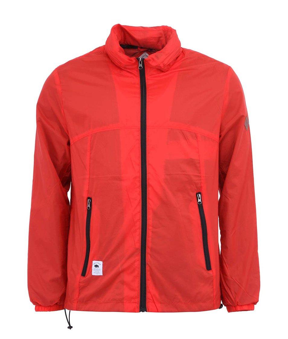 Červená šusťáková pánská bunda Bellfield Notice