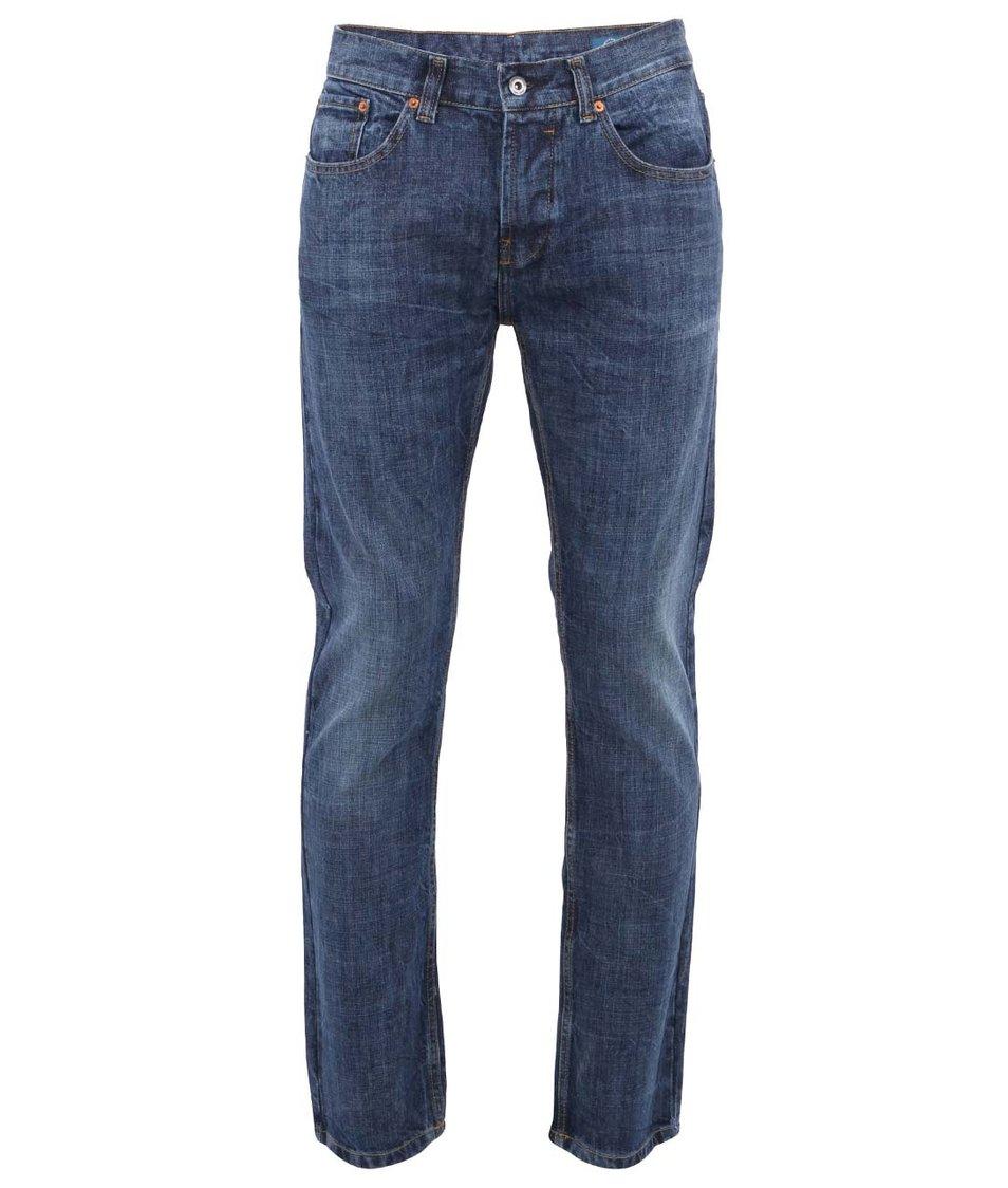 Modré pánské rovné džíny Bellfield Dylan