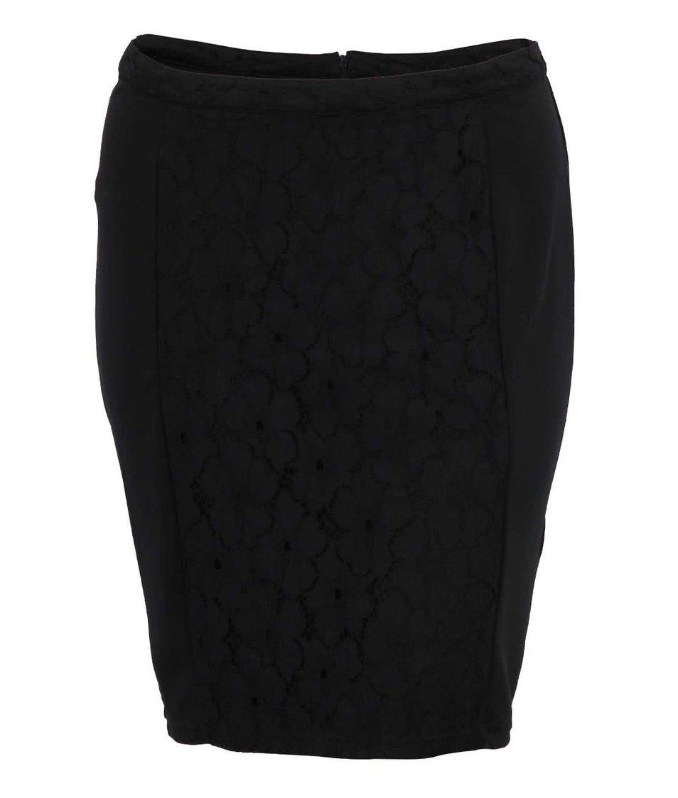 Černá sukně JUNAROSE Elsa