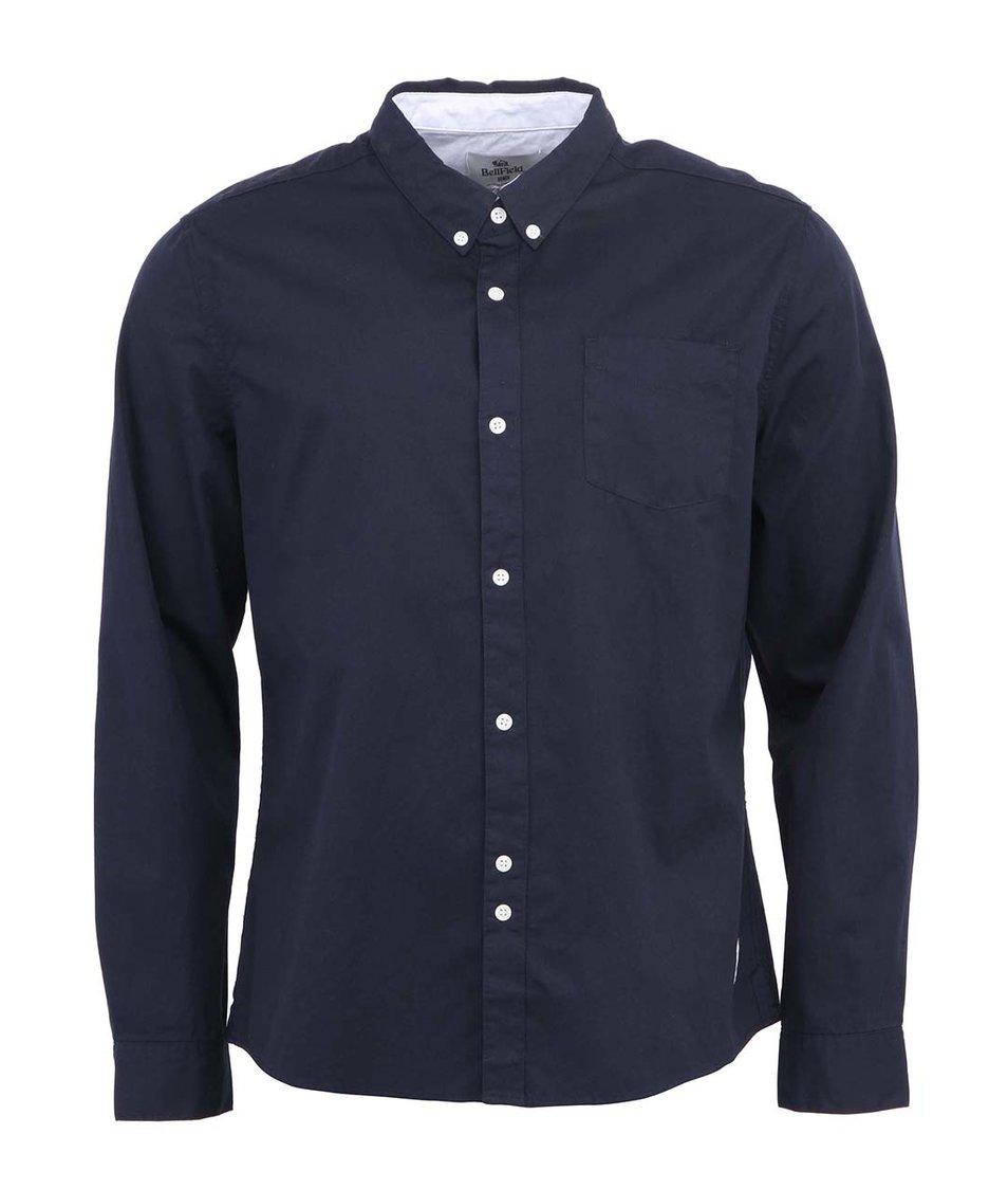 Tmavě modrá košile Bellfield Rhys