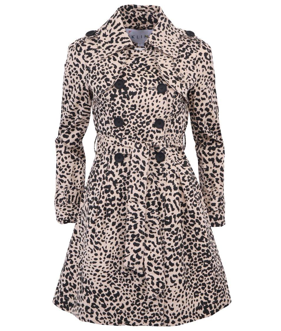 Leopardí trenčkot Kling Nettuno