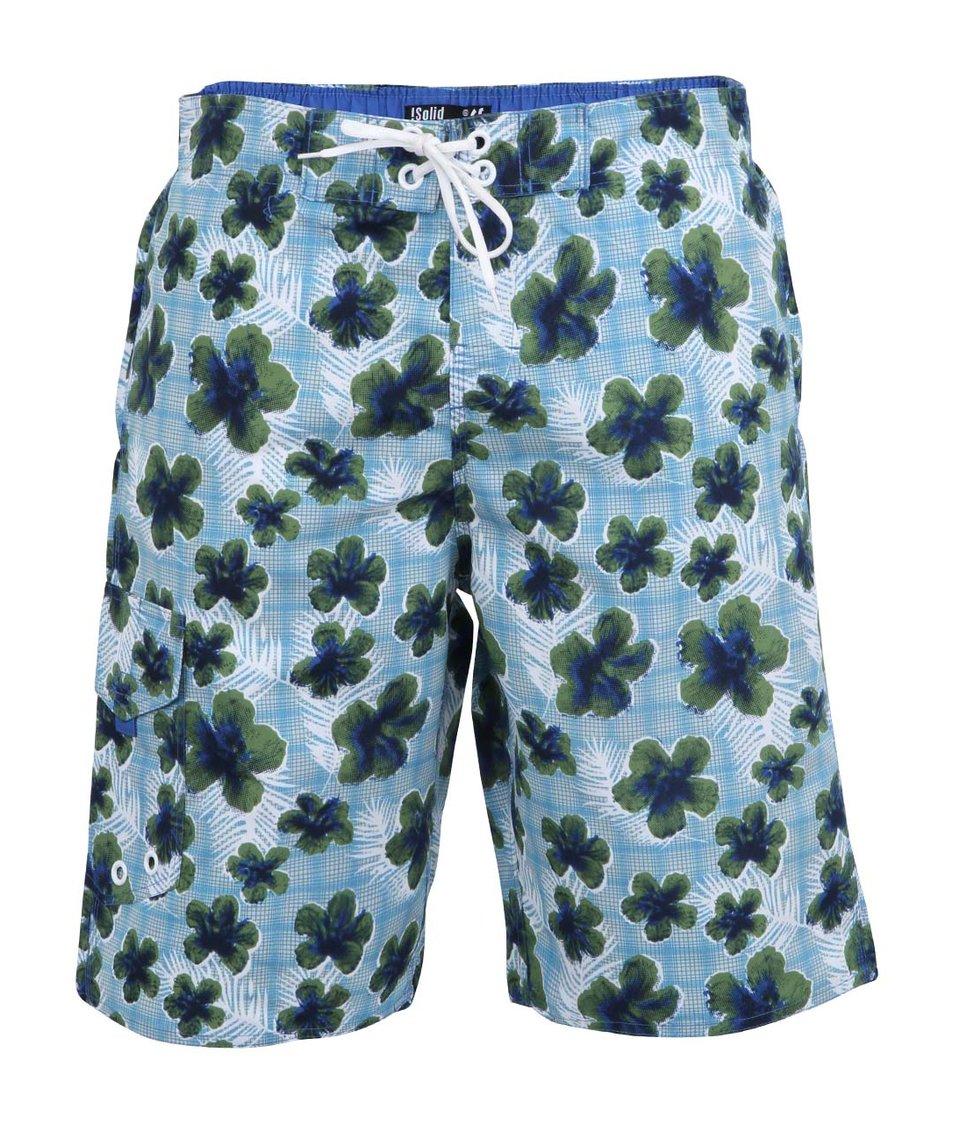 Zeleno-modré květované plavky !Solid Greyson