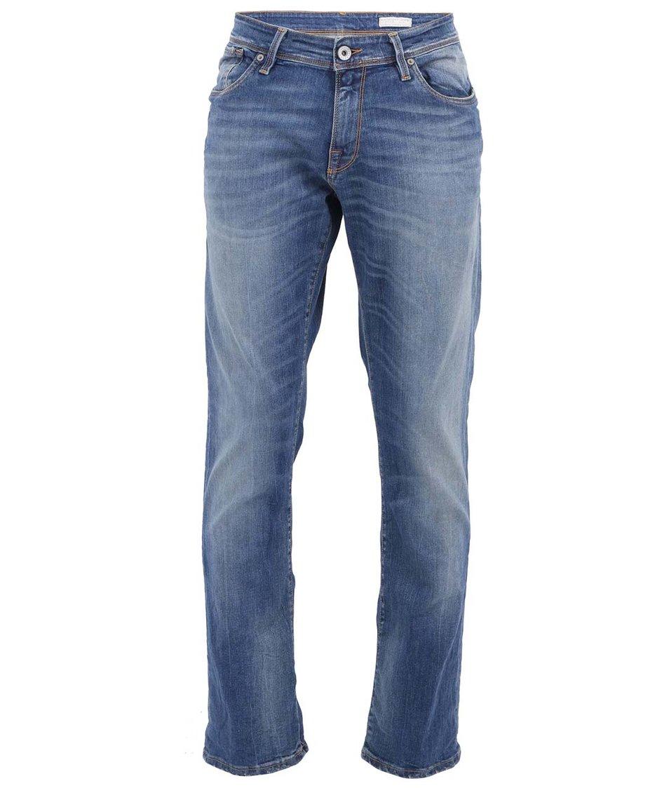 Modré pánské džíny Selected Three Roy