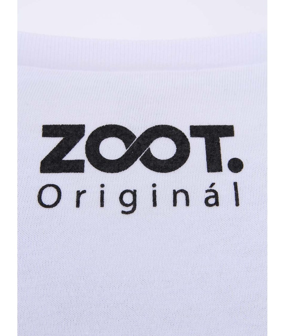 Bílé unisex tričko ZOOT Originál P