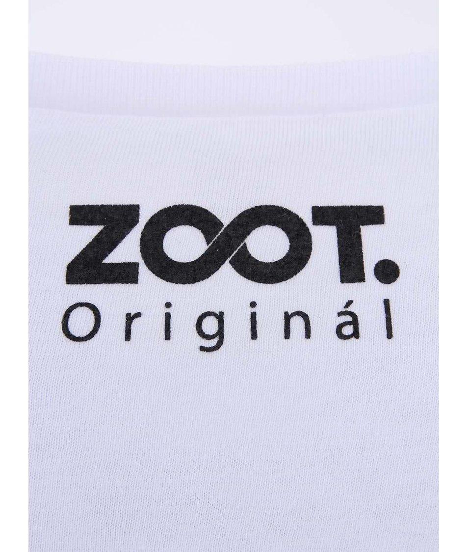 Bílé unisex tričko ZOOT Originál S