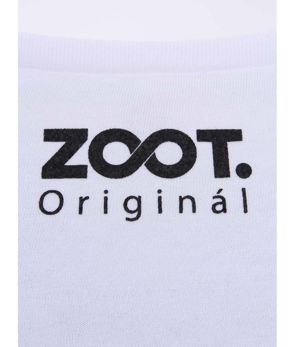 Bílé unisex tričko ZOOT Originál Q