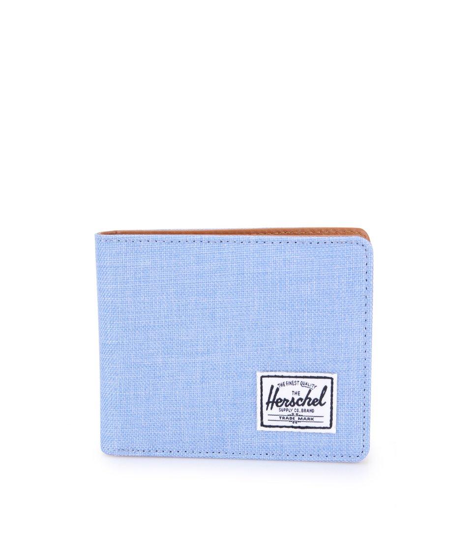 Světle modrá peněženka Herschel Hank Coin