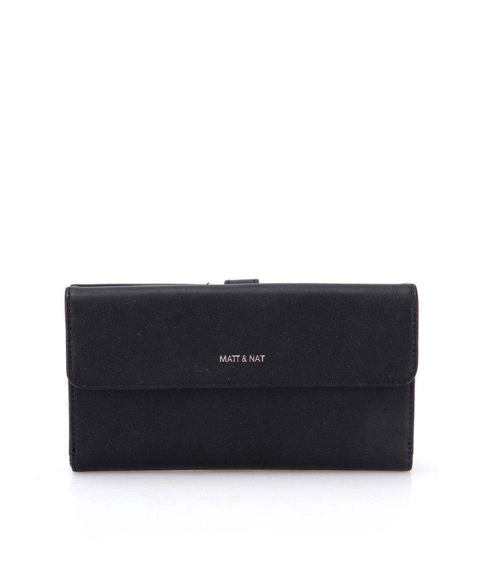 Černá peněženka Matt & Nat Poppy