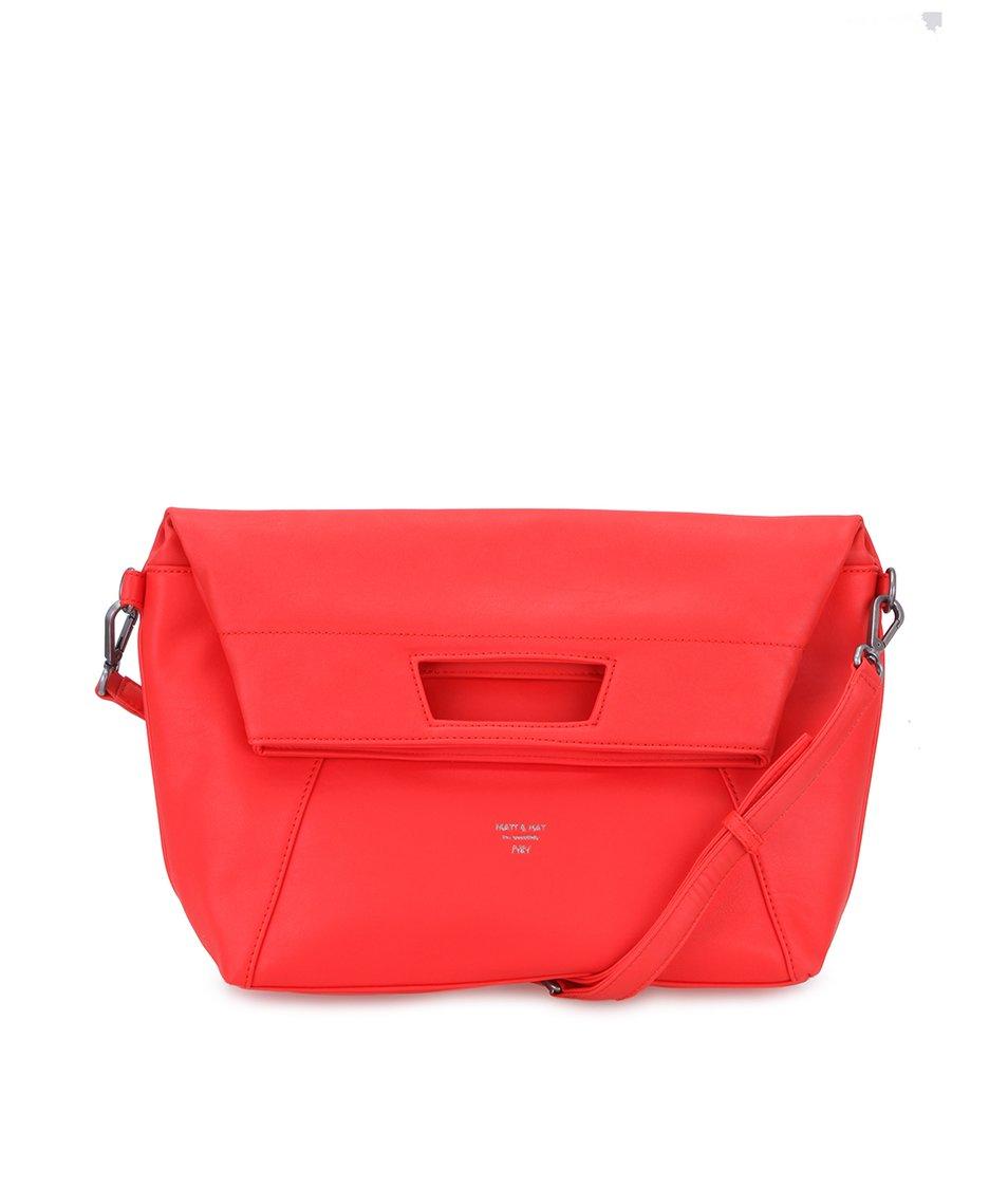 Zářivě červená kabelka Matt & Nat Ayva