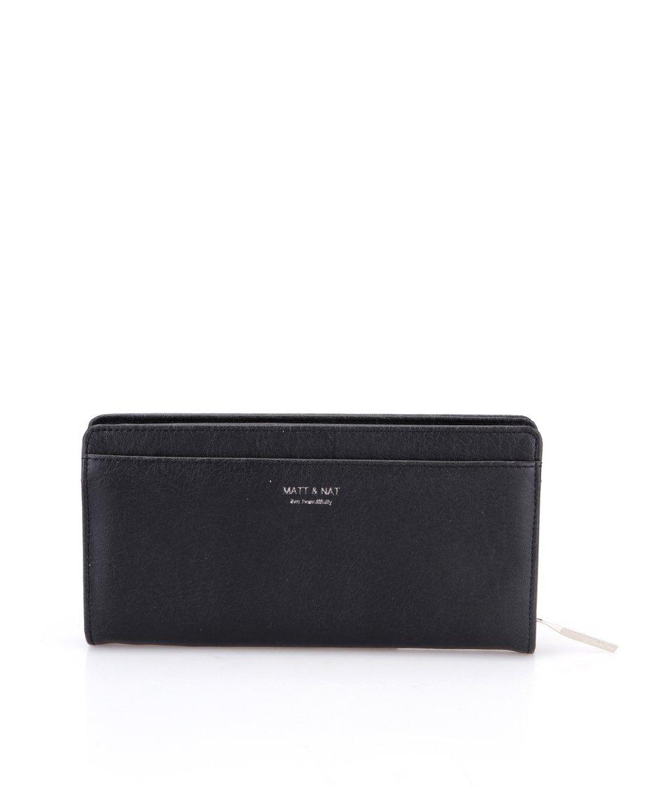 Černá peněženka Matt & Nat Webber