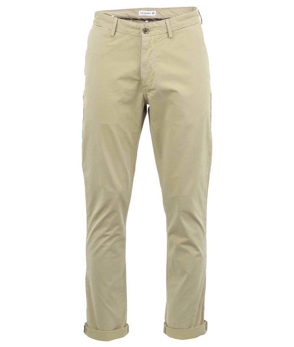 Béžové slim chino kalhoty Ben Sherman