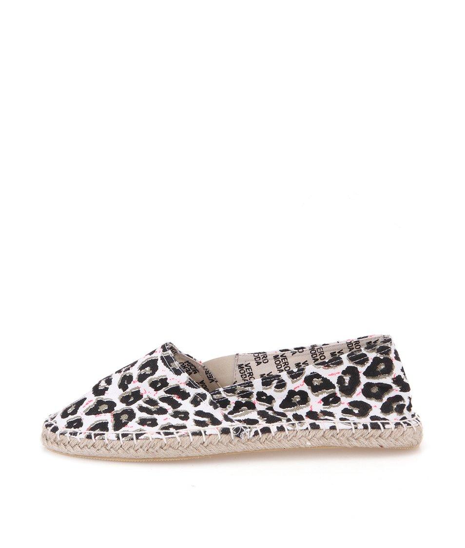 Leopardí espadrilky Vero Moda Lulu