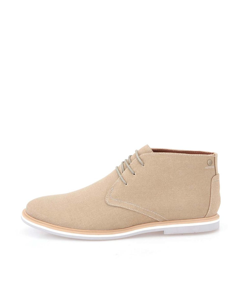 Béžové boty Frank Wright Barrow