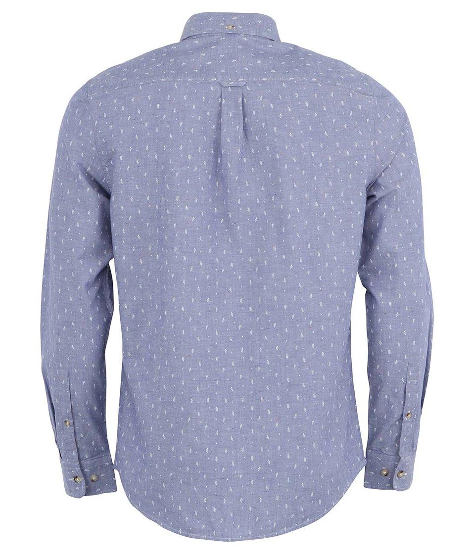 9024a7eec0c Pánská modrá košile s jemným vzorem Ben Sherman - Vánoční HIT ...
