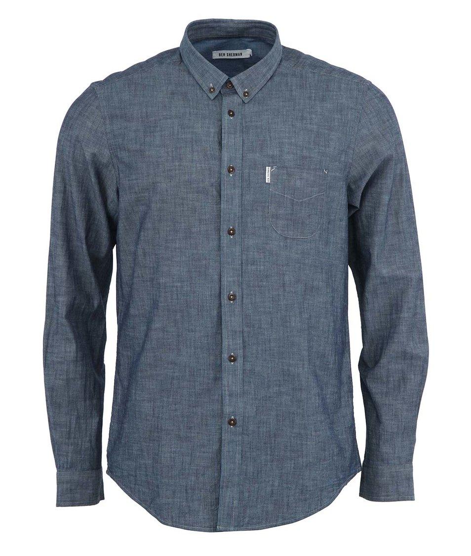 Modrá košile s kapsou Ben Sherman