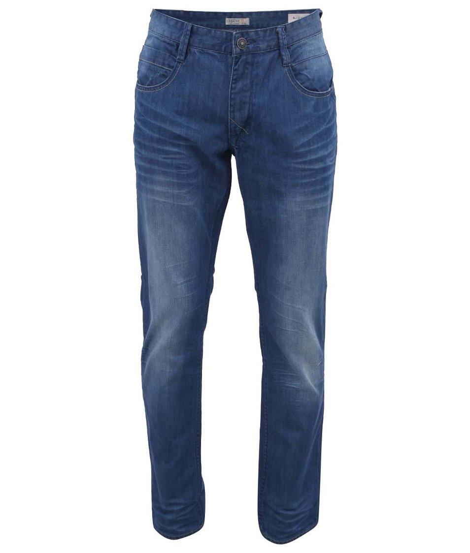 Modré vyšisované džíny Blend
