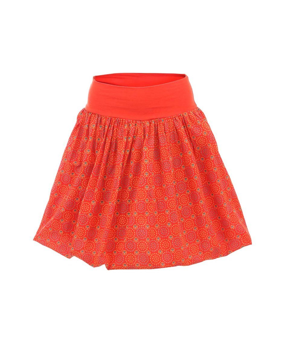Oranžová vzorovaná sukně 2v1 Tranquillo Alegra