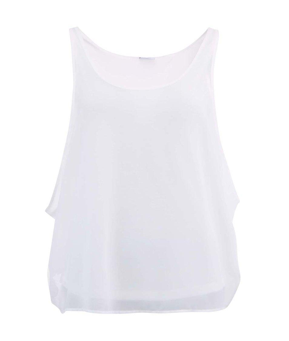 Bílý top Vero Moda Loop