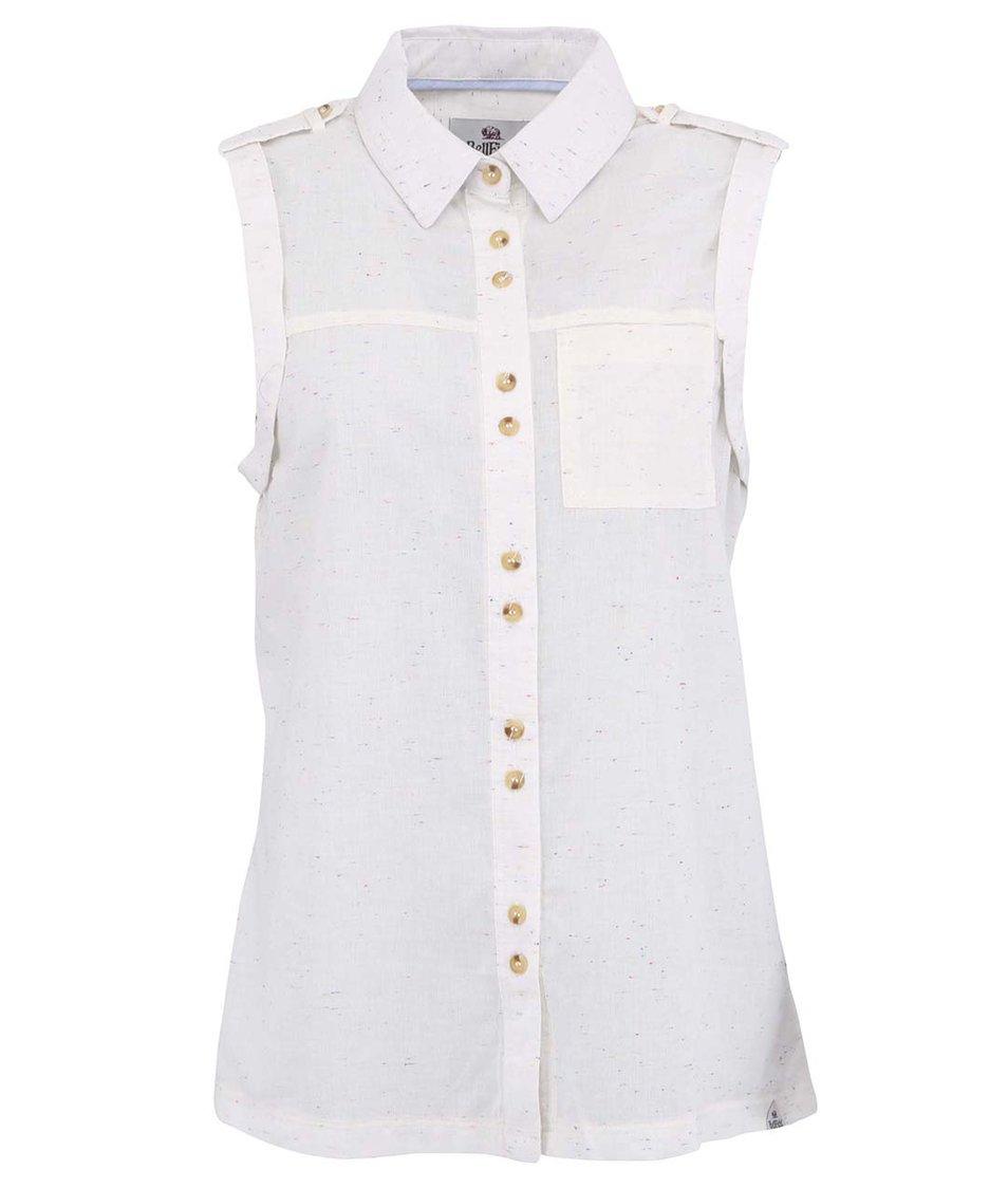 Krémová dámská košile Bellfield Peyton
