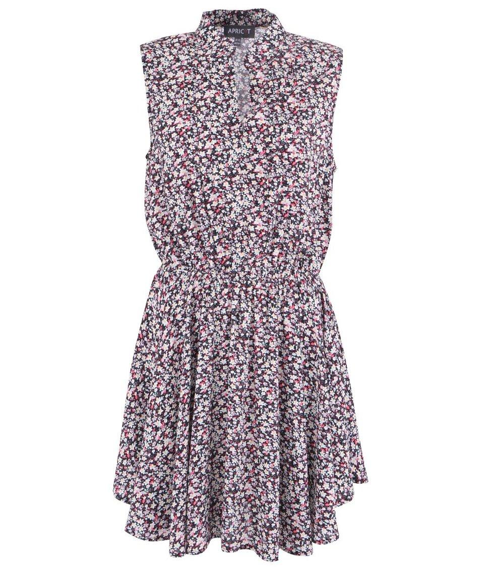 Barevné květované šaty Apricot