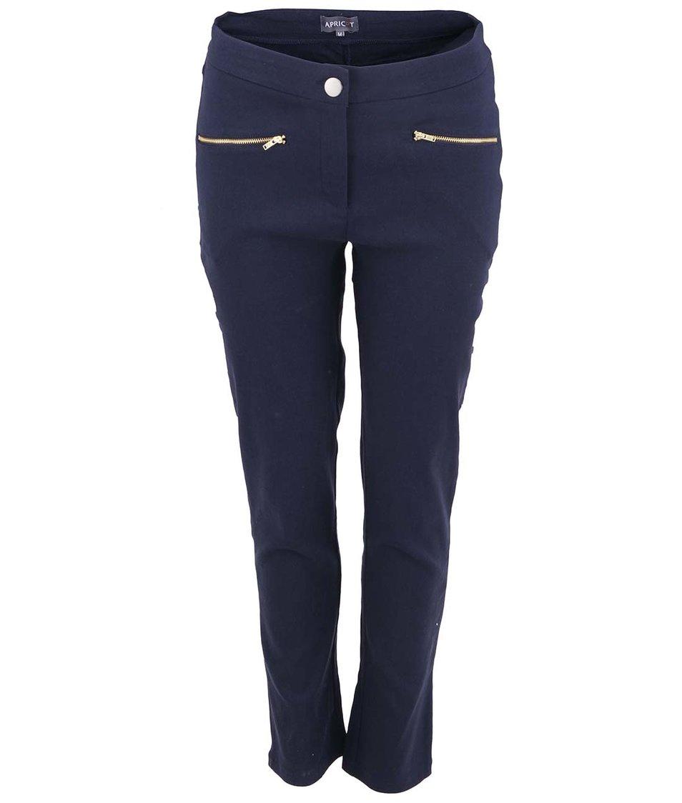 Tmavě modré skinny kalhoty Apricot
