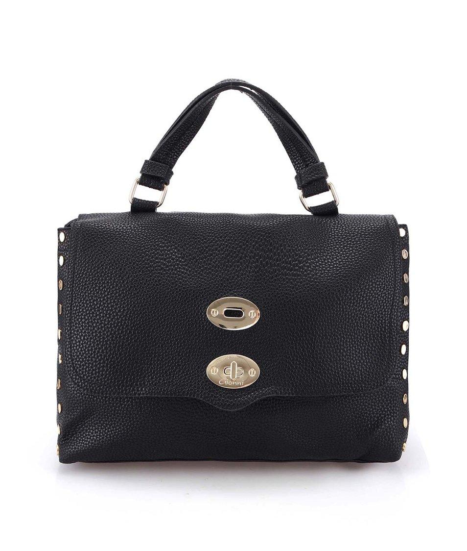 Černá větší kabelka Gionni Sorrell