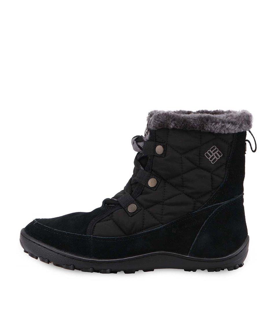 Černé dámské nízké zimní boty Columbia Minx Shorty - SLEVA ... 34b17d17eb