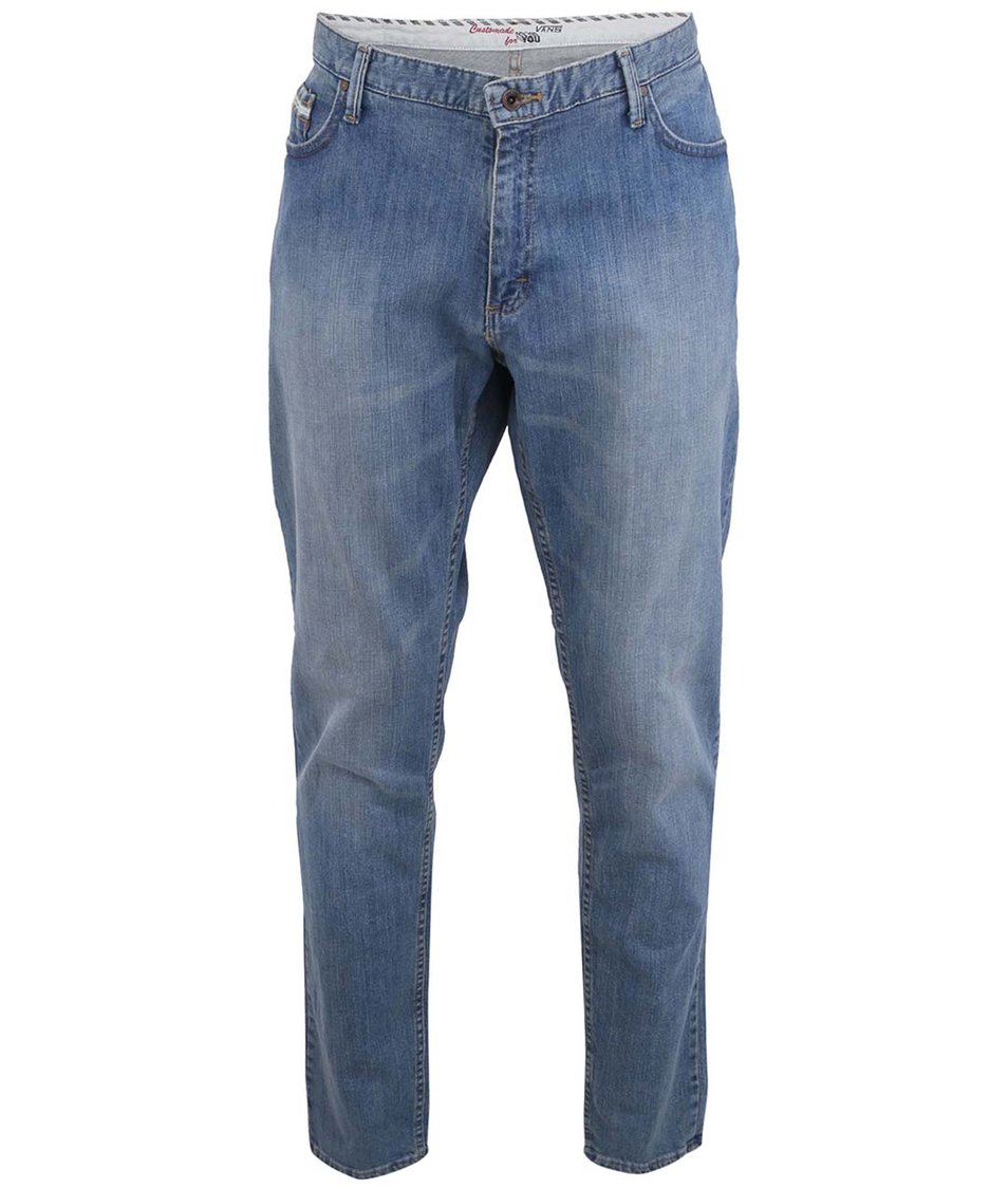 Modré pánské džíny Vans V46 Taper