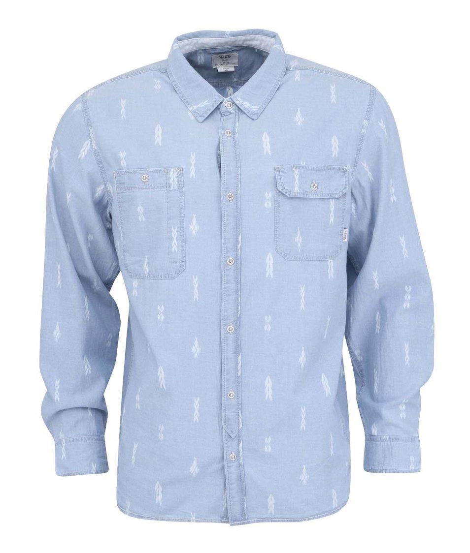 Světle modrá pánská košile Vans Gillman