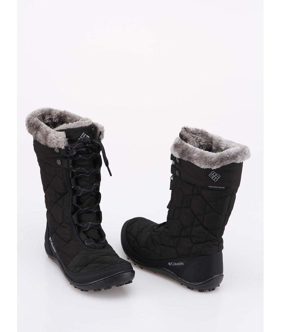 Černé dámské zimní boty Columbia Minx Mid II - SLEVA!  0de1a4c834