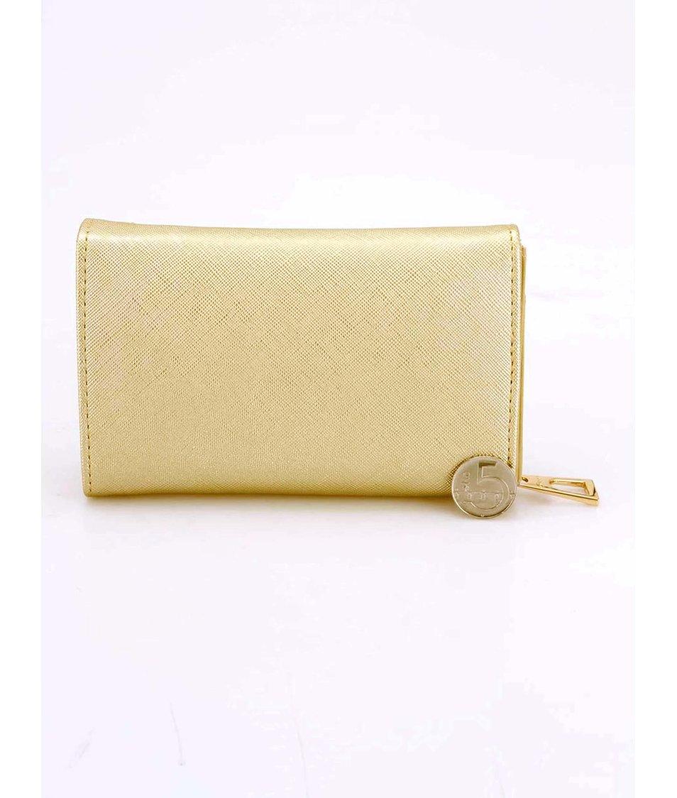 Peněženka ve zlaté barvě Gionni Clio