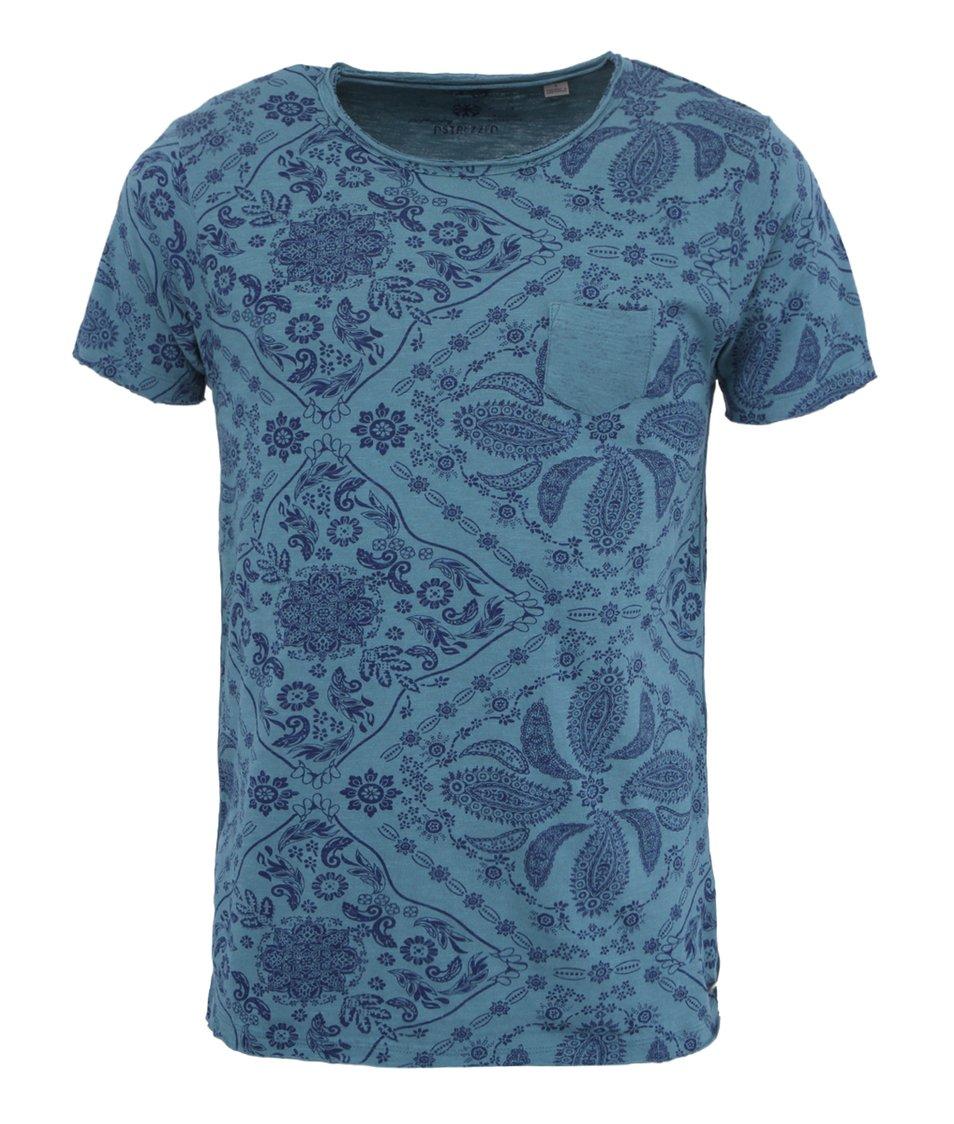 Modré triko Dstrezzed Bandana