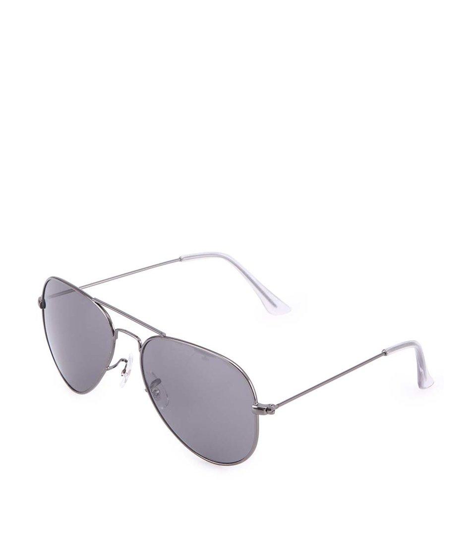 Šedé sluneční brýle Vero Moda Silver