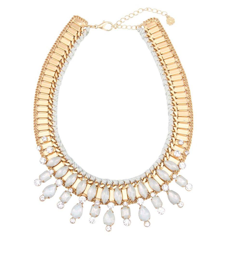 Zlatý proplétaný náhrdelník Pieces Joli