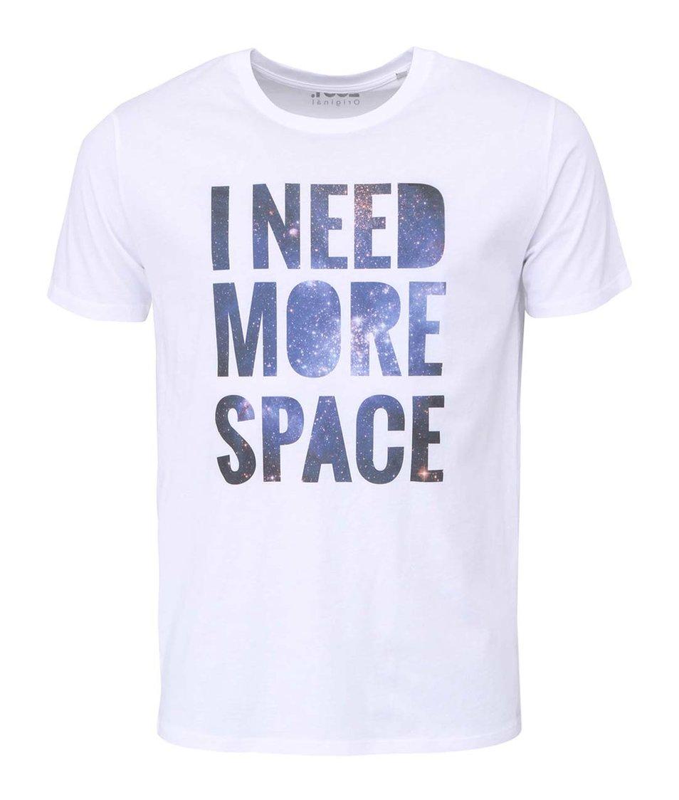 Bílé pánské tričko ZOOT Originál I Need More Space