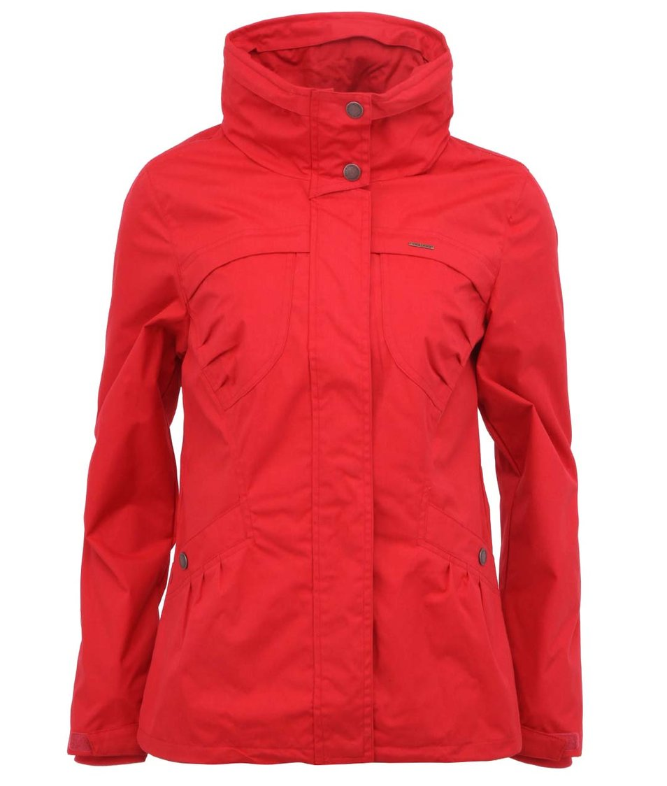 Červená delší bunda Ragwear Plenty
