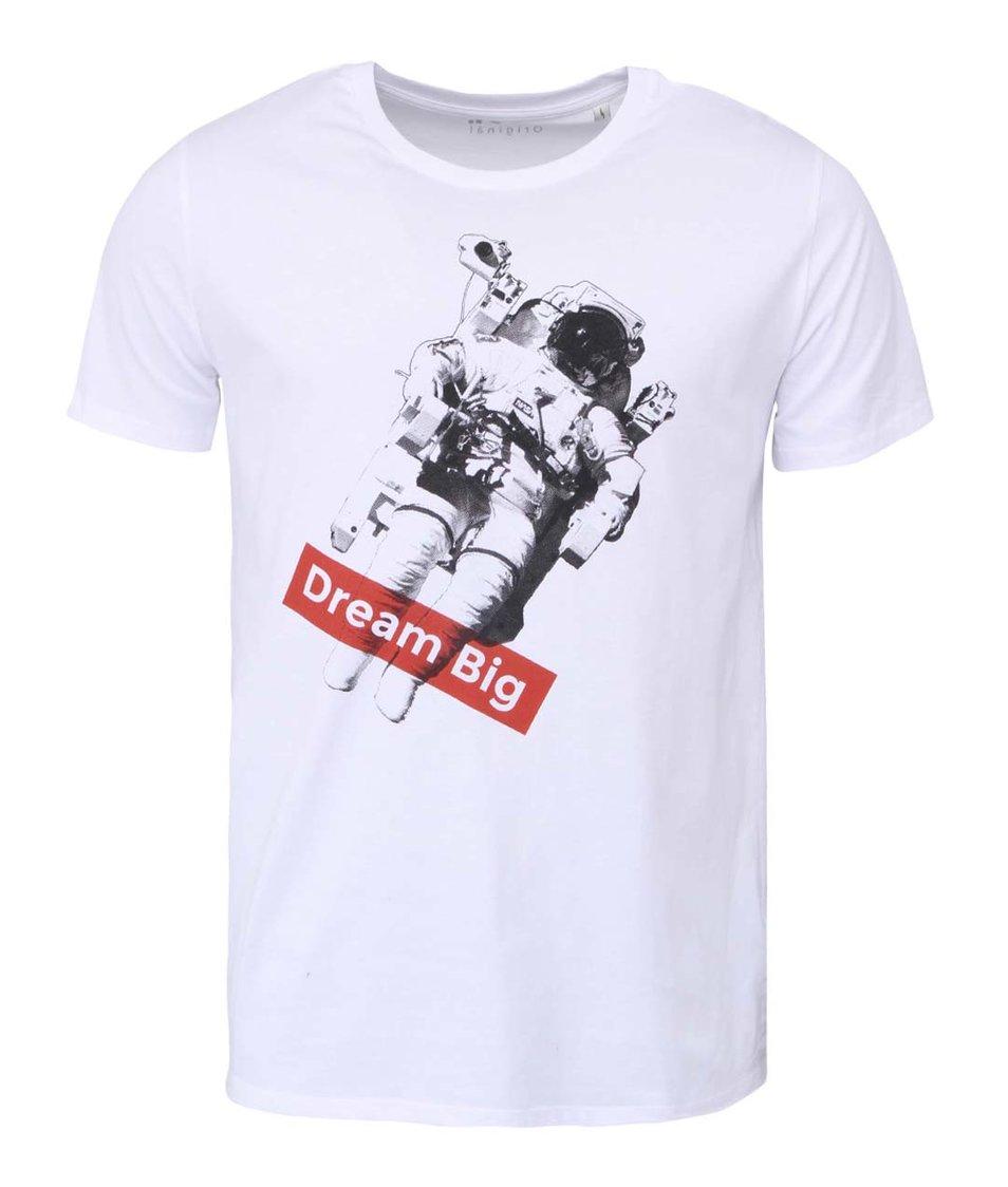 Bílé pánské tričko ZOOT Originál Dream Big