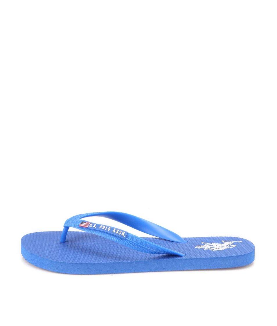 e5b9059adf Modré pánské žabky U.S. Polo Assn. Barclay - SLEVA!
